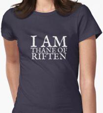 Thane of Riften Women's Fitted T-Shirt