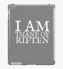 Thane of Riften iPad Case/Skin