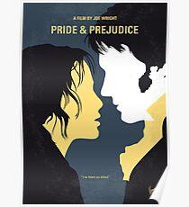 No584- Pride and Prejudice minimal movie poster Poster