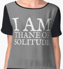 Thane of Solitude Chiffon Top