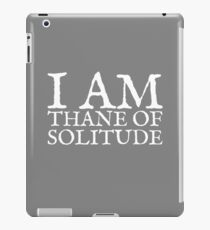 Thane of Solitude iPad Case/Skin