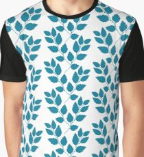 Turquoise twig pattern.  Graphic T-Shirt