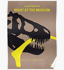 No672- Night at the Museum minimal movie poster Poster