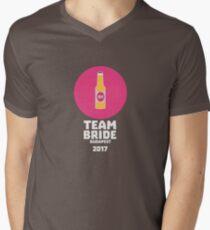 Team bride Budapest 2017 Henparty Rk9l5 Men's V-Neck T-Shirt