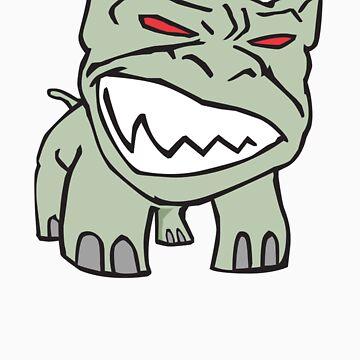 Bad Dog by muthmaniac