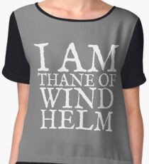 Thane of Windhelm Women's Chiffon Top