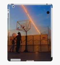 Basketball Game by the Sunset iPad Case/Skin