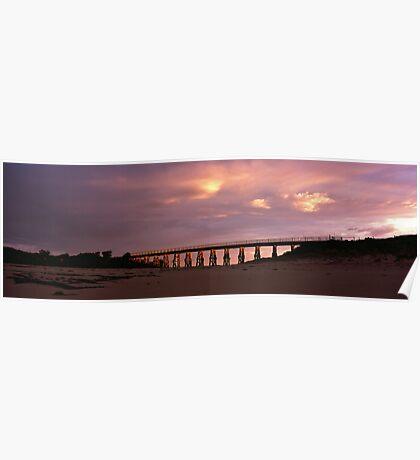 Kilcunda rail bridge Poster