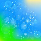 Abstract Summer Background by valeo5