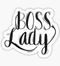 Boss Lady Sticker