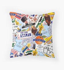 Seinfeld Collage Throw Pillow