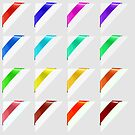 Colorful Corners Marks by valeo5