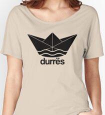 Durres Design Papierschiff paper boat Women's Relaxed Fit T-Shirt