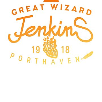 THE GREAT WIZARD JENKINS - burning heart by bembureda