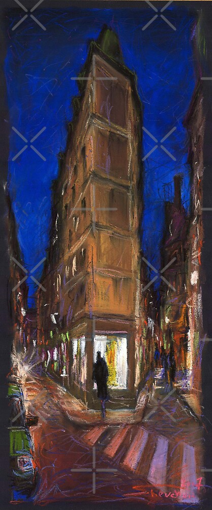 Paris Street 2 by Yuriy Shevchuk