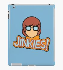 Jinkies! Velma Scooby Doo  iPad Case/Skin