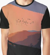 An Italian Sunset Graphic T-Shirt