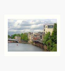 York's River Ouse Art Print