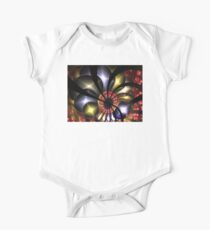 Red Gold Blue Orbs Kids Clothes