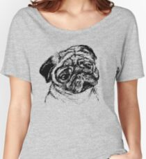 Inky Pug Women's Relaxed Fit T-Shirt