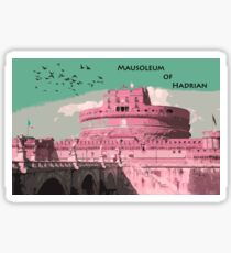 Mausoleum of Hadrian - Rome  Sticker