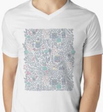 Doodle cats and flowers T-Shirt