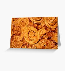 Chocolate Icing Greeting Card