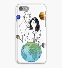 Doctor Who - Twelve and Clara iPhone Case/Skin