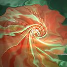 like a flower- Abstract  Art + Products Design  by haya1812