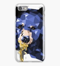 Graphic Honey Bear Grizzly Wild Bear Animal Design  iPhone Case/Skin