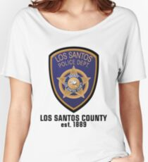 Los Santos Police Departement Women's Relaxed Fit T-Shirt
