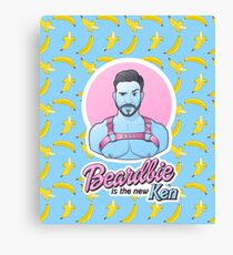 Beardbie is the new Ken Canvas Print