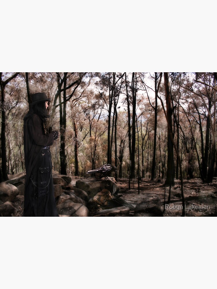A walk in the Blackened forest by Rivergirl