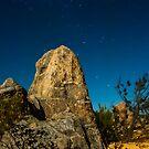Pinnacles in the Evening by Skye Harris