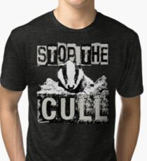 STOP THE CULL Tri-blend T-Shirt