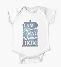 A Mad Woman With a Box One Piece - Short Sleeve