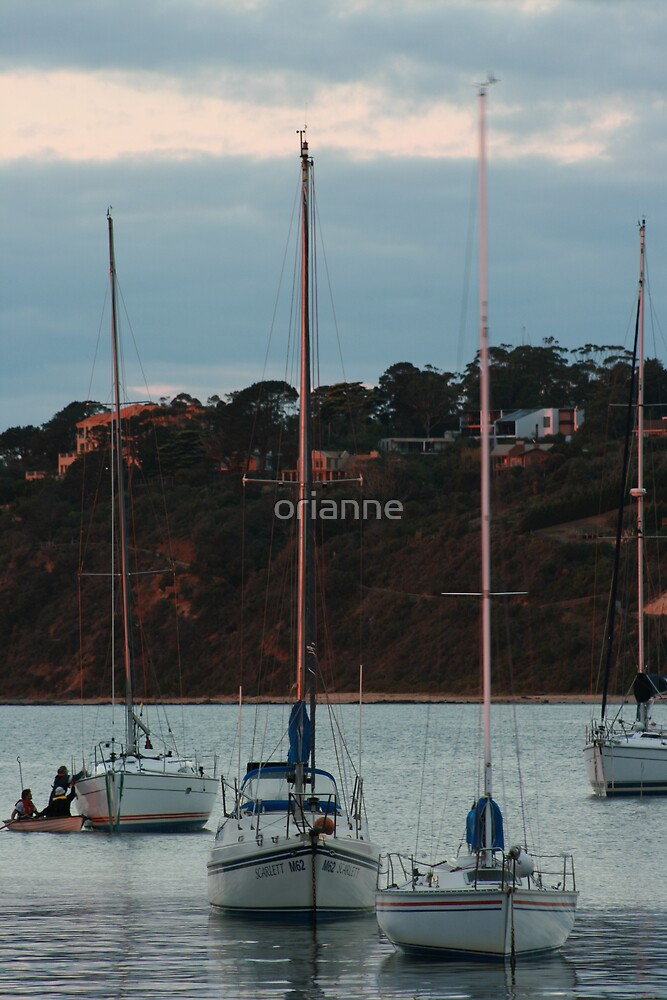 Yachts on the harbour by orianne