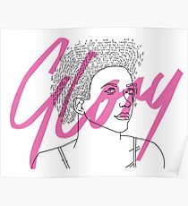 Glory, Bastille - May Daniels  Poster