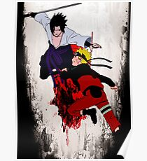 Naruto Fight Poster