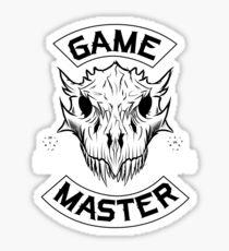 Game Master D&D Sticker