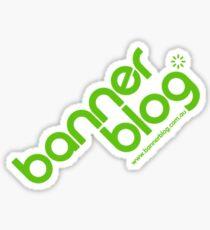 Bannerblog Standard T-Shirt #1 Sticker