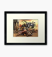 The Crusaders Framed Print