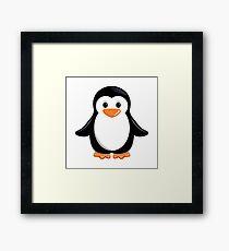 Pretty little penguin Framed Print