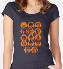 Doctor Who | The Fourteen Doctors Women's Fitted Scoop T-Shirt