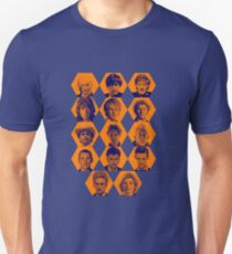 Doctor Who | The Fourteen Doctors Unisex T-Shirt