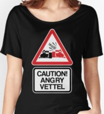 Angry Vettel Women's Relaxed Fit T-Shirt