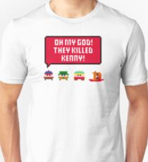 Pixel South Park - They Killed Kenny Unisex T-Shirt