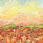 « Crépuscule-Ville » par Stiopic