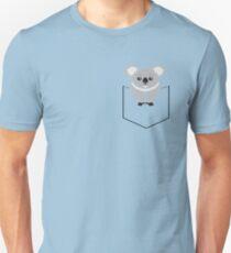 Koala In Shirt Pocket Unisex T-Shirt
