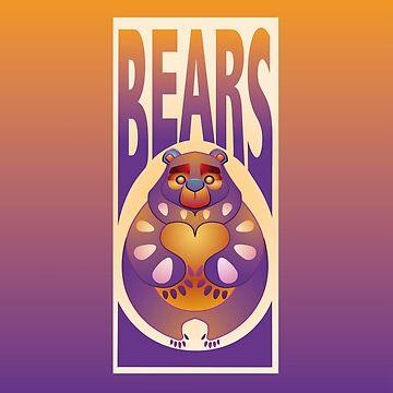 TOTEM BEARS - loving by OHBEARON